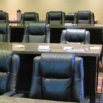 One of several types of meeting rooms available at this property
