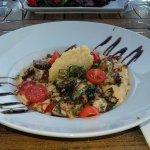 poulpes au basilic et risotto au chorizo... une tuerie!