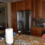 Kitchen; refrigerator