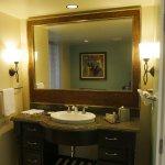 Master bedroom in a 2-bedroom premier suite