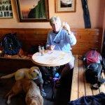 The Climbers' Bar, a fine refuge!