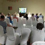 TV room during the Euros!