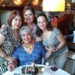 Celebrating in Cabanna Restaurant