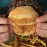 Delicious burger....juicy with a great flavor.