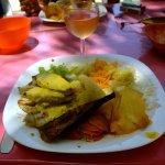 marlin banane concombre semoule purée giraumon