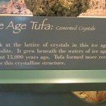 Exhibit at Mono Lake visitor's center