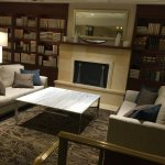 """This is the """"library"""" adjacent to the lobby."""