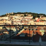 Morning view of Lisbon