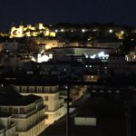Night view of Lisbon, Castelo Sao Jorge on top left