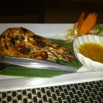 Want to try a grilled shrimp with thay souce??