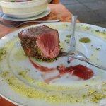 Filetto di tonno mit köstlicher Kruste