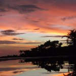 prettiest sunset in the world! Villa Noche, San Juan Del Sur, Nicarauga