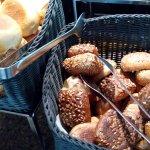 Frühstücksbuffet: Brötchensortiment