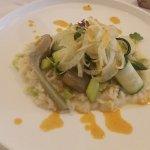 Risotto courgette artichaut et fenouil