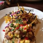 Simply Grilled Mahi with Pineapple Salsa and the Tortilla Slaw
