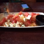 Salad Appetizer Special-Watermelon, tomatoes, mozzarella cheese.