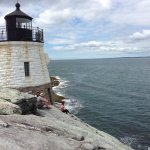 Lighthouse at Castle Hill — short hike from the Inn