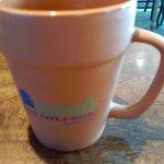 my flower pot coffee mug! I should of seen if i could buy it!