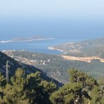 A view of Kalkan from the vindow of the B&B