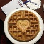 World's best waffle