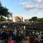 Crowd @ Lake Harriet Bandshell
