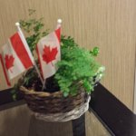 Canada Day Welcome in the lobby