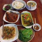 A selection of Nyonya dishes offered as a set menu for those keen to sample a few.
