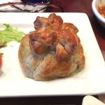 Spanakopita appetizer (you get two) - DELICIOUS!