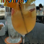 Good white sangria!