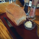 We were there for dinner, the restaurant has wonderful bread ever!  We're having a great moment