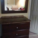 Dressing table dresser off Bathroom