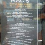 Foto de Mac's of Main Street