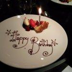 Birthday victoria sponge