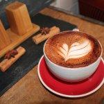 Silky organic coffee