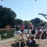Teashop by  the Canal