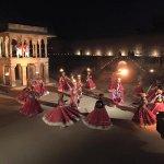 Dancers at the Sufi Fest