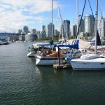 Downtown de Vancouver desde False Creek