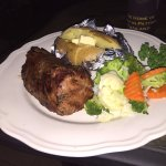 Fillet Steak with Veggies cooked to perfection