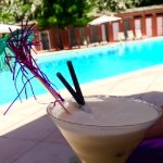 Pina colada at the pool - it had to be done!