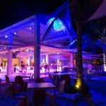 Papagayo Beach Bar by night