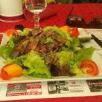 Salade de gésiers sublime comme l'année dernière ! !!!!