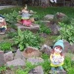 Garden Gnomes at Pines Motel
