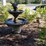 Lovely fountains adorn the grounds at every turn. So tranquil!