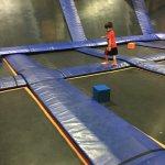 Skyzone indoor trampoline park Mississauga
