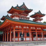 Heian Shrine Foto
