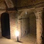 interno delle grotte di Camerano A
