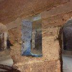 interno delle grotte di Camerano D