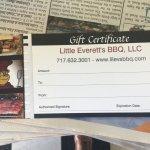 Little Everett's BBQ
