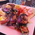seafood diet.