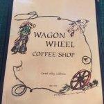 Wagon Wheel Coffee Shop Foto